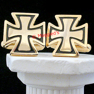MAS#9 - Knights Templar Masonic Cufflinks