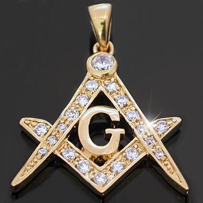 Masonic pendant regalia jewelry gold gold layered jewelry czp 628 mens created diamond masonic pendant aloadofball Image collections
