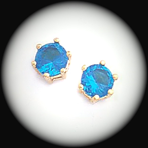 BSE-52- December Zircon Stud Earrings