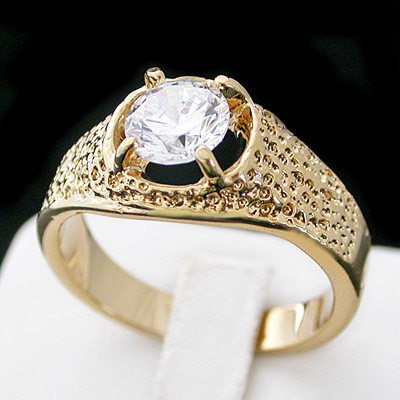 MN-43 Mens 4.68ct Nugget Ring