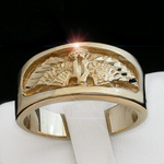 MN-11 - Mens Eagle Ring