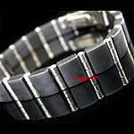 SLB-0173 - Men's 10mm Stainless Steel & Rubber Bracelet